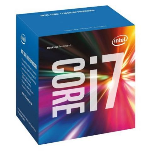 Intel Core I7-7700 CPU, 1151, 3.6 GHz, Quad Core, 65W, 14nm, 6MB Cache, HD GFX, 8 GT/s, Kaby Lake